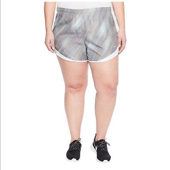 7e737c8ce78 Nike Womens Plus Size Dri Fit Tempo Track Shorts